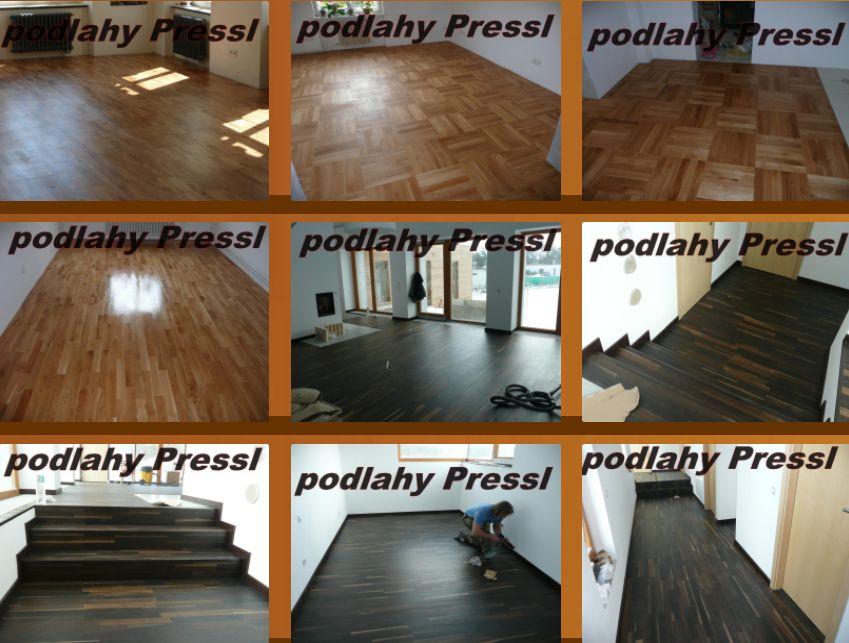 parketové podlahy